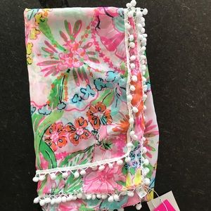 New Lilly Pulitzer for Target Nosey Posie Scarf